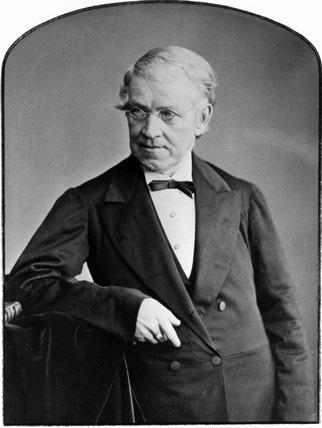 Sir Charles Wheatstone, English physicist, c 1850.