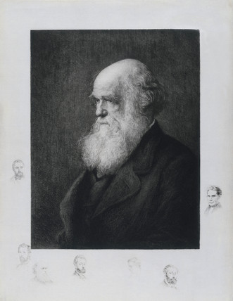 Charles Darwin, English naturalist, c 1860s.