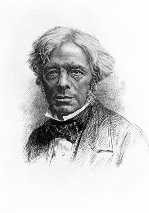 Michael Faraday, English physicist, c 1860.