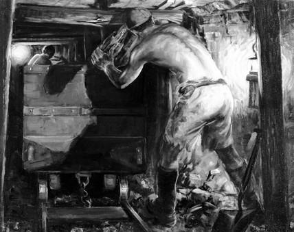 'Tub Stall', c 1928.