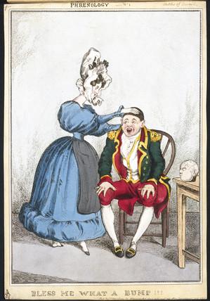 'Bles Me What a Bump', c 1820-1830.