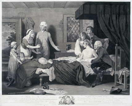 'The Young Man Restored To Life', 1787.
