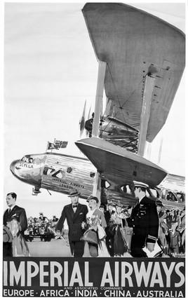 'Imperial Airways', poster, 1936.