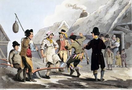 'The Fool Plough', 1813.