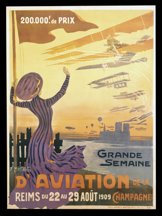 'Grande Semaine d'Aviation de la Champagne', Reims, France, 1909.