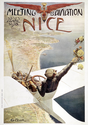 'Meeting d'Aviation Nice', France, 1910.
