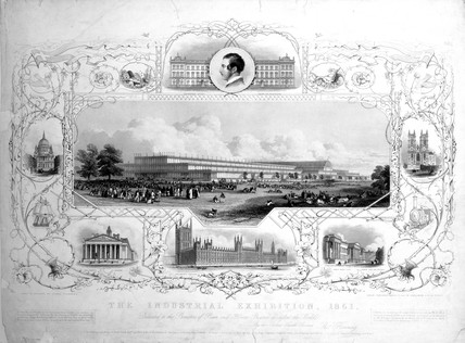 'The Industrial Exhibition', London, 1851.