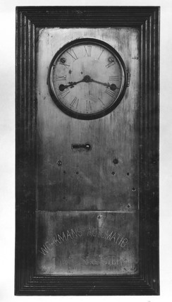 The original type of Bundy Workman's Time Register, c 1885.