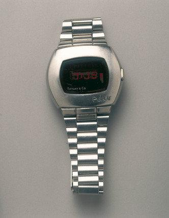 Hamilton 'Pulsar' digital wristwatch, 1970.
