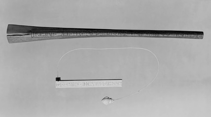 A 'merkhet', Egypt, c 600 BC. Replica. Comp