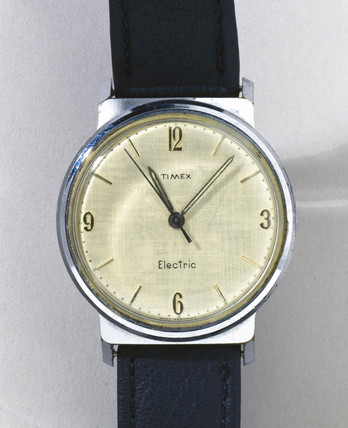 Timex 'Electric' wristwatch, c 1960s.