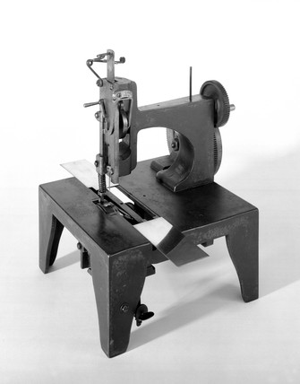Original Singer sewing machine, 1854.
