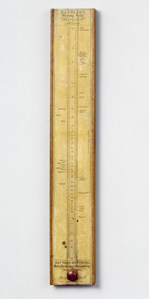 Hayward's slide rule, 19th century. Made by