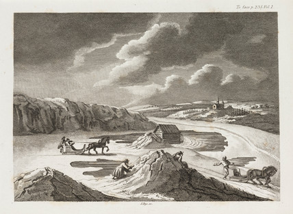 'Perilous Pasage on the Ice', c 1798-1799.