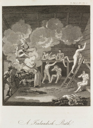 'A Finlandish Bath', c 1798-1799.