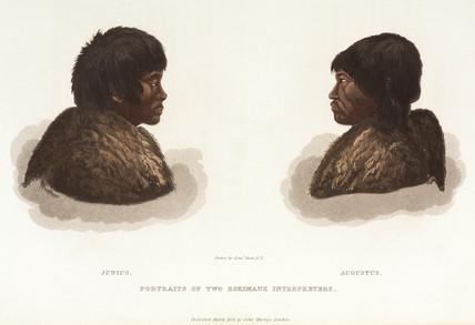 Inuits, Canada, 1819-1822.