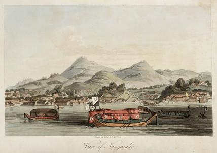 'View of Nangasaki', c 1804-1806.