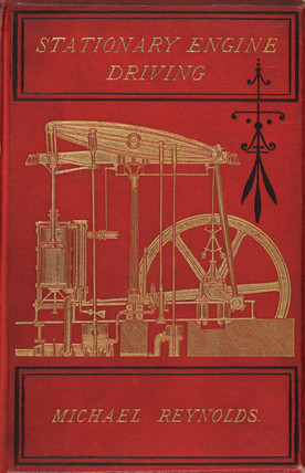Cover to 'Stationary engine driving', 1881.