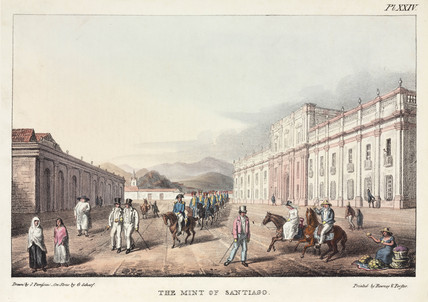 'The Mint of Santiago', Chile, 1820-1821.