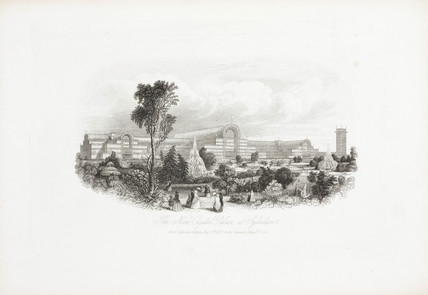 'The New Crystal Palace at Sydenham', 1852-53.