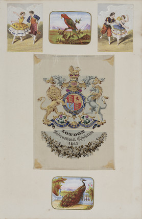 Royal coat of arms, 1862.