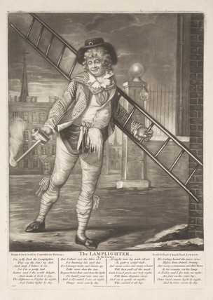 'The Lamplighter', 1790.