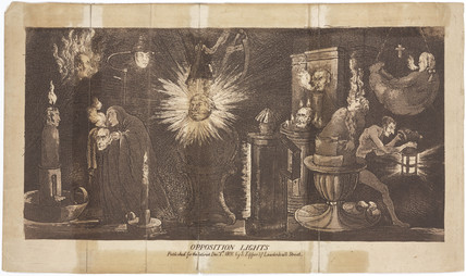 'Opposition Lights', London,  1 December 1808.