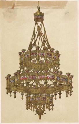 Chandelier, 1862-1863.