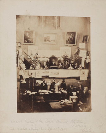 Meeting of the Royal Cornwall Polytechnic Society, Falmouth, 1859.