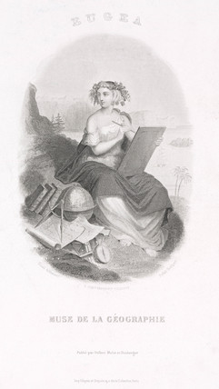 'Eugea, Muse of Geography' , 1739.