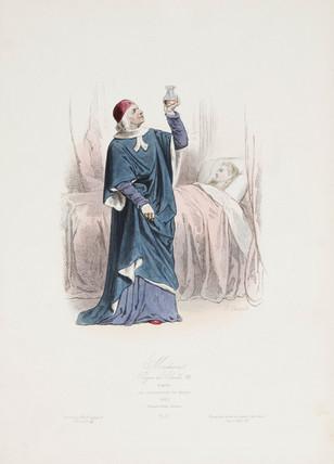'Medicine: Reign of Charles VIII', France, 1493.