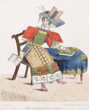 'The Circulating Library', 1830.