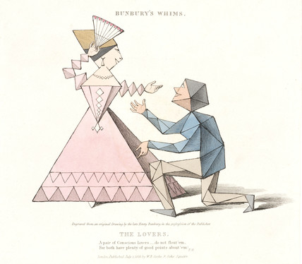 'The Lovers', 'Bunbury' Whims', 1828.