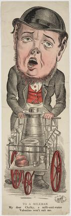 'To a Milkman', 1880-1890.