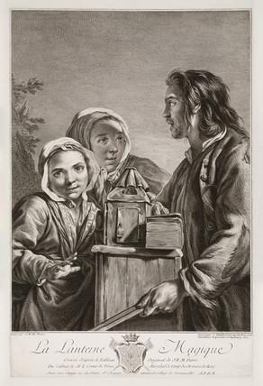 'The Magic Lantern', 1757.