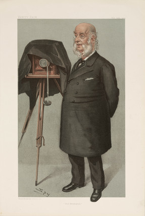 Sir John Benjamin Stone, English politician and photographer, 1902.