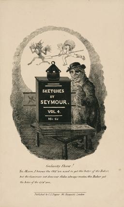 A magic lantern slide show, 1836.