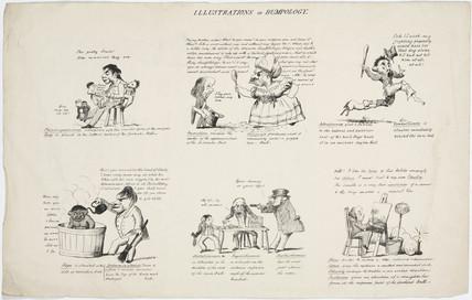 'Illustrations of Bumpology', 1805-1830.