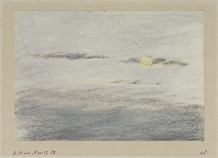 Sky, 19.15, 17 November 1883.