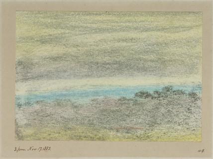 Horizon and sky, 15.00, 17th November 1883.