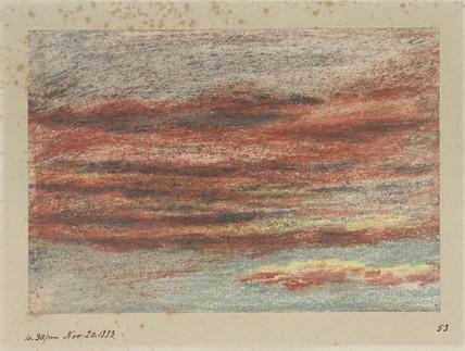 Clouds, 16.30, 20 November 1883.