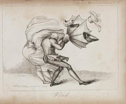 'Wind', c 1840.