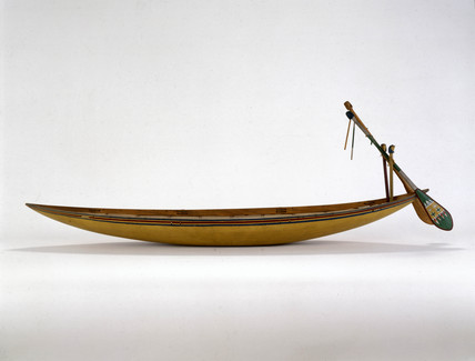 Egyptian funerary boat, c 2000 BC.