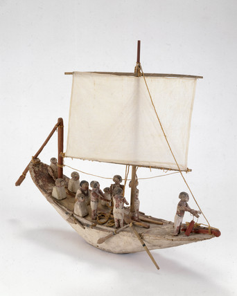 Egyptian boat, c 2000 BC.