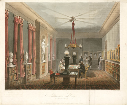 Ackermann's library for works of art, 1813.