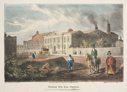 'The Dublin Oil Gas Station', Republic of Ireland, 1824.