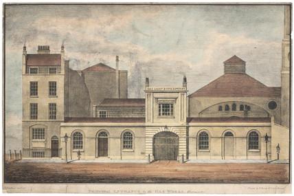 The Gas Light & Coke Company, Westminster, London, c 1812.