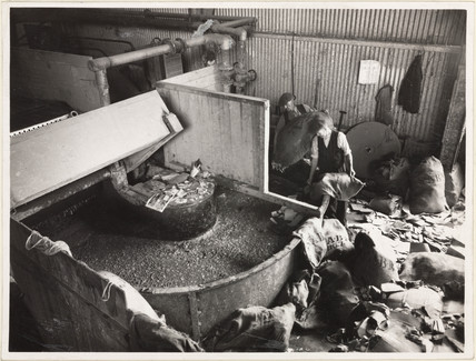 Pulp and paper production, 1936-1942.