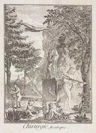 Allegorical scene, 1780.