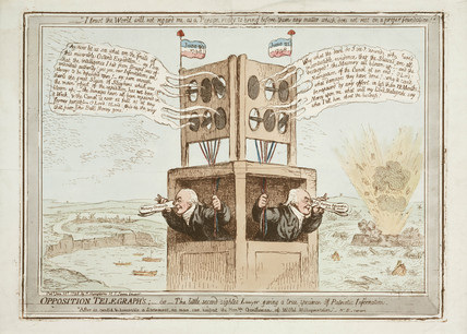 'Opposition Telegraphs', satire, 21 June 1798.